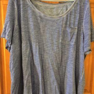 Tops - Lane Bryant blue tshirt